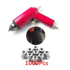 Air Gun Tool w/ 1000x Stud Screw Nails for Car Wheel Tire Snow Chains Anti-Skid