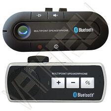 VIVAVOCE BLUETOOTH PER AUTO CELLULARE UNIVERSALE SPEAKER SMARTPHONE TABLET v3.0