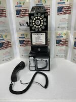 1950's Old Fashioned Rotary Style Wall-Mountable Payphone Free shipping