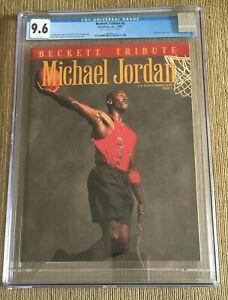 MICHAEL JORDAN 1993 Beckett Tribute Magazine  Issue #3 CGC 9.6 MINT NEWSSTAND