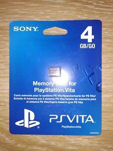 Memory Card PS Vita 4Gb NEW Free Shipping