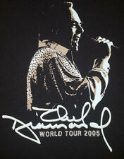 Neil Diamond 2005 World Tour XL T Shirt Concert Black