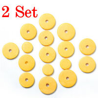 32 Pcs Flute Pads for Yamaha Size Replacement A Grade Closed Hole