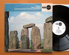 ECS 600 Holst The Planets Malcolm Sargent London Symphony NM/EX Decca