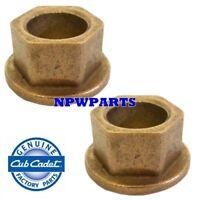 MTD 2 Pack Of Genuine OEM Replacement Hex Flanged Bearings # 948-0229-2PK