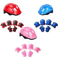 UK_ Children Helmet Pad Set and Knee Elbow and Wrist (Helmet Kits) Bike HoverBoa