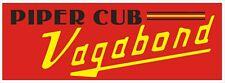 A24 Piper Cub Vagabond Airplane banner hangar garage decor Aircraft signs