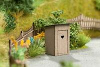 NOCH HO SCALE 1/87 OUTHOUSE (2) KIT | BN | SHIPS FROM USA | 14359