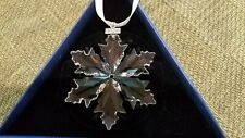 SWAROVSKI Crystal 2014 Annual Snowflake Christmas Ornament - Large - Excellent