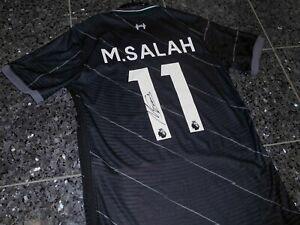 "Liverpool ""M.SALAH"" Nike Trikot; Handsigniert/Autogramm Gr.M CHARITY"""