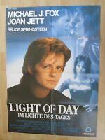 Filmplakat : Light of Day ( Michael J. Fox , Joan Jett , Bruce Springsteen )
