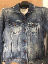Zara Woman Soft Denim Jacket Size Medium