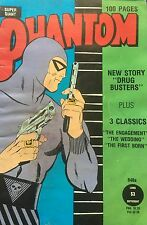 Phantom 848a Drug Busters + 3 Classic Stories 100pages Super Giant Edition GC