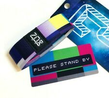 ZOX **PLEASE STAND BY** Silver Strap med Wristband w/Card New Mystery Pack