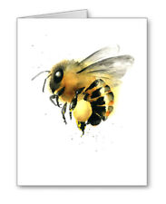 Honey Bee Note Cards With Envelopes