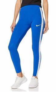 Nike Women's Sportswear High-Rise Leggings, Blue, XS - NEW