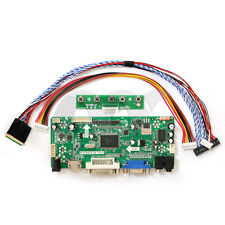"""HDMI+VGA+DVI+Audio Input LCD Controller Board For LP140WH1 LP156WH2 11.6 14"""" LED"""