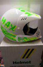 Casco Max Mx Vintage Cross Helmet Nos No Bell Shoei Arai Nolan Nava