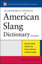 McGraw-Hill's Essential American Slang-ExLibrary