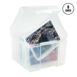 Photo Storage Box Crafts Storage Clear Plastic Container Photographs Pictures