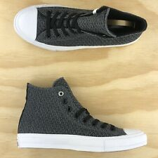 Converse Chuck Taylor All Star II High Top Mesh Grey White Shoes 154020C Size 8