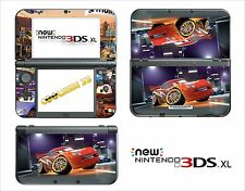 SKIN STICKER AUTOCOLLANT - NINTENDO NEW 3DS XL - REF 25 CARS