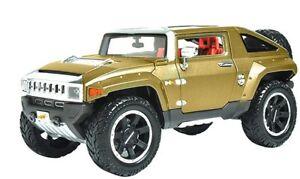 HUMMER HX CONCEPT GOLD METALLIC 1/18 DIECAST MODEL CAR BY MAISTO 36171