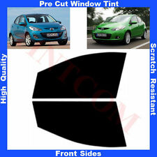 Pre Cut Window Tint Mazda 2 Hatchback 5 Doors 2007- 2013 Front Sides Any Shade