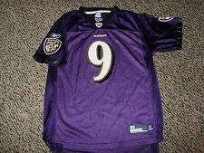 Steve McNair # 9 Baltimore Ravens Youth Football Jersey Large