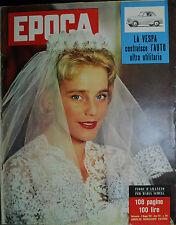 EPOCA N°344/ 05/MAG/1957 * LA VESPA COSTRUISCE L'AUTO ULTRA UTILITARIA *