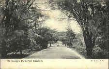 Port Elizabeth Südafrika South Africa AK ~1910/20 St. George Park Garten Garden
