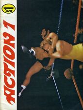 1970s ACTION 1 Wrestling Photo Magazine VERNE GAGNE/THE CRUSHER/MAD DOG VACHON