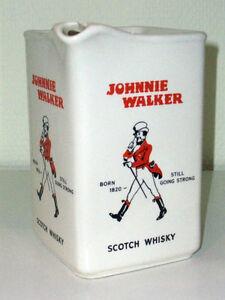 Johnnie Walker BORN 1820 STILL GOING STRONG Scotch Whisky Marke Emil SAHM  K45K4