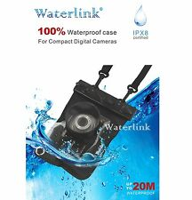 Waterlink IPX8 20M 100% Underwater case for Nikon Coolpix P310 P300 S6100 S6000
