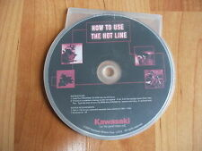 CR 2007 Kawasaki How To Use The Hot Line Manual on CD