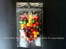 350 Pcs 5x8 Stand Up Zipper Pouches 4 Mil Freezer Bags (CSUP-B) Clear-Clear