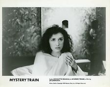NICOLETTA BRASCHI MYSTERY TRAIN 1989 VINTAGE PHOTO ORIGINAL N°1  JIM JARMUSCH