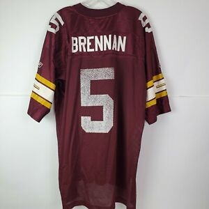 NFL Colt Brennan Mens Washington Redskins Red #5 Jersey XL Reebok Football