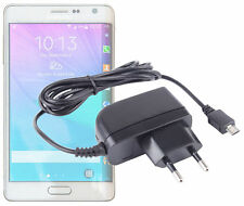 Micro USB EU Two-Pin Mains Travel Charger for Samsung Galaxy Note Edge & Note 4