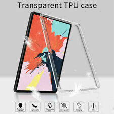 """For iPad Pro 11"""" 12.9"""" inch 2020 2018 TPU Case Soft Protective Clear Back Cover"""