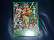 """OWZTHAT!"" Classic Cricket Dice Board Game.   ** Contents New + Sealed **"