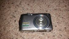 Nikon COOLPIX S3300 16.0 MP Digital Camera - Silver