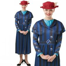 Licensed Mary Poppins Returns Costume Disney Ladies Nanny McPhee Book Day Fancy