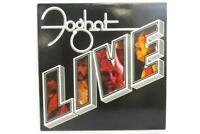 "Foghat Live 1977 Rock Vinyl 12"" 33 RPM LP Record BRK-6971"
