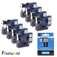 8PK D1 Label Tape 45013 S0720530 Compatible DYMO LabelManager 160 Label Maker