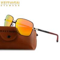 KEITHION Brand Designer Polarized Unisex Mens Sunglasses Outdoor Sports Glasses