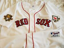 Ted Williams 2001 Boston Red Sox 100 Years Anniversary Authentic Jersey Size 52