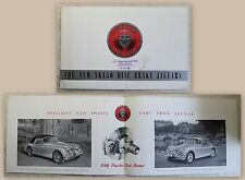 Werbeprospekt Broschüre Jaguar XK 150 Disk Brake Automobil Oldtimer 1959 xz