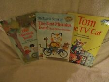 Vintage Children's Books Step into Reading-A Step 2 Book Lot of 3