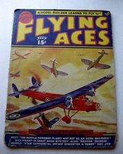 July 1939 Flying Aces Model Airplane Magazine Plans for Model Planes